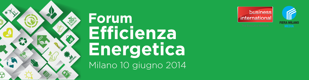 Forum Efficienza Energetica 2014