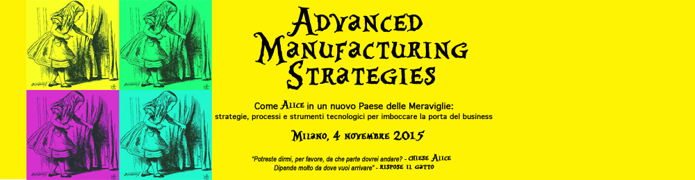 Advanced Manufacturing Strategies