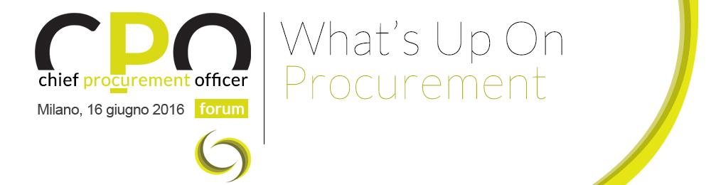 Chief Procurement Officer Forum 2016