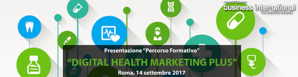 "Presentazione ""Digital Health Marketing Plus"""
