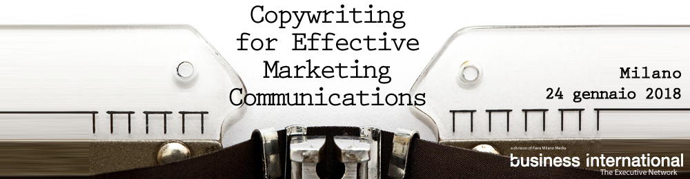 Copywriting for effective marketing communications