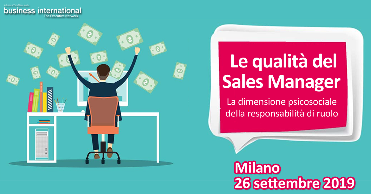 Le qualità del Sales Manager