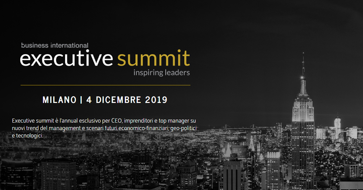 Executive Summit: The world in 2020