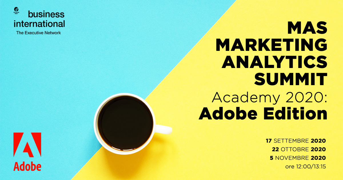 MAS academy 2020 - The Analytics workshop series